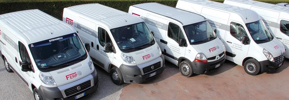 Unità mobili attrezzate per il centro/nord Italia