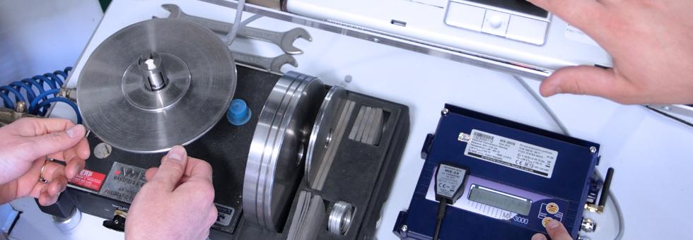 Laboratorio per verifiche e manutenzioni